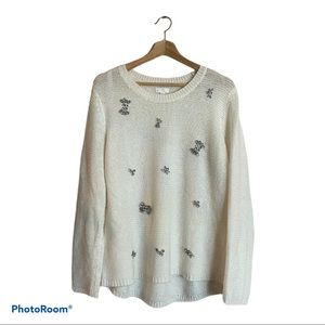 Charming Charlie Embellished Sweater